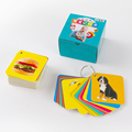 108pcs Kids Baby Learning Education Cognitive Cards Fruit Animal Visual Excitation Montissori Toys English Chinese Flashcards preview-2
