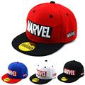 Cool Marvel LOGO Kid's Baseball Cap Avengers 2021 Spiderman Captain American Flat brim Hat Boys Girls Baby Children Caps preview-1