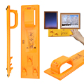 Photo Frame Hanging Tool Pictures Level Ruler Hanger Hooks Easy Hanging Measuring Ruler Tools preview-1