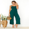 Women Summer Sexy Sleeveless Rompers 2021 Casual Loose Party Backless Office Overalls 5XL Jumpsuits dresses women lady elegant preview-4