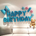 Happy Birthday Balloons Set for Kids Girl Boy Wife Women Balloon Home Decorations Party Supplies Baby Shower preview-4