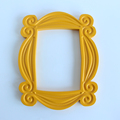 TV Series Friends Handmade Monica Door Frame Wood Yellow Mon  Photo Frames Collectible Home Decor Collection Gift preview-2