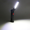 Portable COB LED Flashlight USB Rechargeable Work Light  Magnetic Lanterna Hanging Lamp with Built-in Battery Camping Torch preview-6