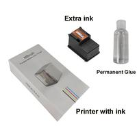 Printer ink glue