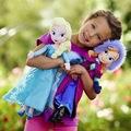 Queen Frozen 2 Elsa Plush Doll Princess Anna Elsa Doll Toys Elza Stuffed Plush Kids Toys Halloween Christmas Birthday Gift preview-1