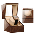 High Class Motor Shaker Watch Winder Holder Display Automatic Mechanical Watch Winding Box Jewelry Watches Box preview-3