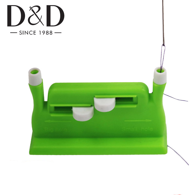 Useful Hand Needle Threader with 5pcs Sewing Needle Threader DIY Needlework Sewing Tools Needles Insertion Accessories