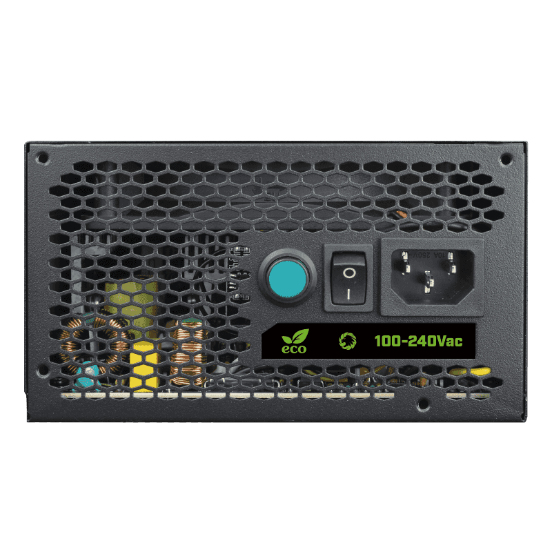 GameMAX Power Supply RGB PSU True Rated 800W Semi Modular 80 Plus Bronze RGB ATX PC Case Power Supply for Computer VP-800-M-RGB preview-5