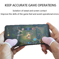 6 Pcs Sweat-proof Mobile Game Thumb Finger Sleeve Touch Screen Sensitive Gloves preview-3