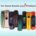 Strap For Xiaomi Mi Band 5 4 3 Silicone Wristband belt Bracelet Replacement Wrist Color TPU For Xiaomi Band 6 MiBand 4 3 5 Strap preview-2