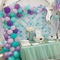42Pcs Mermaid Balloon Arch Set Mermaid Tail Balloon Little Mermaid Party Decorations Supplies Wedding Girl Birthday Party Decor preview-6