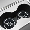 1/2pcs Car-Styling PVC Car non-slip coaster Mat Case For BMW Mini Cooper One S JCW R55 R56 R60 F55 F56 Countryman accessories preview-6