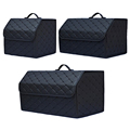 Multipurpose Collapsible Car Trunk Storage Organizer With Lid Portable Car Storage Bag Car Trunk Organizer preview-1