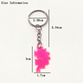 Flatback Resin Pendant Phone Charms Handbag Keyring Resin Cabochons Bear Keychain For Freinds Childrens Bag Pendant Jewelry preview-6