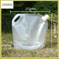 Transparent Folding Water Bag Evacuation Disaster Prevention Goods Water Tank Bag Portable Large Capacity Camp Cooking Supplies preview-5