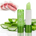 1PC Moisture Lip Balm Long-Lasting Natural Aloe Vera Lipstick Color Mood Changing Long Lasting Moisturizing Lipstick Anti Aging preview-1