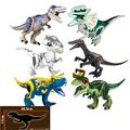 Jurassic World Park Dinosaurs Family Building Blocks Affordable Set Tyrannosaurus Rex Educational Toys Gift For Children preview-2