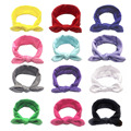 Newborn Baby Pure Color Headband Elastic Bunny Ears Headband Little Girl Headband Elastic Headband Baby Hair Accessories preview-2