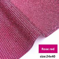 rose red  24x40cm