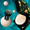 Avocado BB Cream Air Cushion Face Foundation Mushroom Head Concealer Whitening Base Makeup Cosmetic Waterproof Brighten 2021 New preview-3