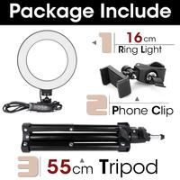 55cm stand 16cm lamp