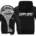 Winter Can Am Spyder Motorcycles Hoodies Men Fashion Coat Pullover Wool Liner Jacket Can Am Spyder Sweatshirts Hoody preview-2