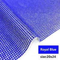 royal blue 20x24cm