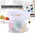 5pcs Colorful Reusable Fruit Vegetable Bags Net Bag Produce Washable Mesh Bags Kitchen Storage Bags Toys Sundries preview-3