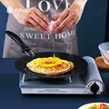 WORTHBUY 30cm Non-Stick Iron Saucepan Egg Pancake Pan For Breakfast Steak Omelette Frying Pan Kitchen Non-Stick Cookware Pan preview-4