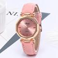 Fashion Women Leather Casual Watch Luxury Analog Quartz Crystal Wristwatch часы женские наручные смарт часы часы женские 2020 preview-3