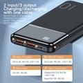 KUULAA Power Bank 10000mAh Portable Charging PowerBank 10000 mAh USB PoverBank External Battery Charger For Xiaomi Mi 9 8 iPhone preview-4