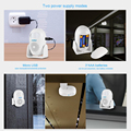 KERUI M120 Smart 100db PIR Infrared Anti-Theft Burglar Welcome Multifunction Human Motion Detector For Garage Shop Home Security preview-6