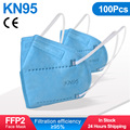 Blue 100PCS
