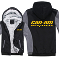 Winter Can Am Spyder Motorcycles Hoodies Men Fashion Coat Pullover Wool Liner Jacket Can Am Spyder Sweatshirts Hoody preview-3