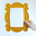 TV Series Friends Handmade Monica Door Frame Wood Yellow Mon  Photo Frames Collectible Home Decor Collection Gift preview-4
