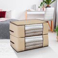 Thickened Non-woven Quilt Storage Bag Clothes Storage Box Travel Portable Storage Box Folding Closet Organizer ForPillow Blanket preview-3