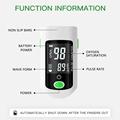 Finger Oximeter Digital Fingertip Pulse Oximeter Blood Oxygen Saturation Meter Finger SPO2 PR  Heart Rate Monitor Health Care preview-3