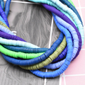 6mm 400pcs/lot DIY Jewelry Findings Polymer Clay Beads Rubber Spacer Beads For Boho Jewelry Making Bracelet Accessory preview-2