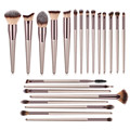 22 PCs Makeup Brushes Champagne Gold Premium Synthetic Concealers Foundation Powder Eye Shadows Makeup Brushes preview-1