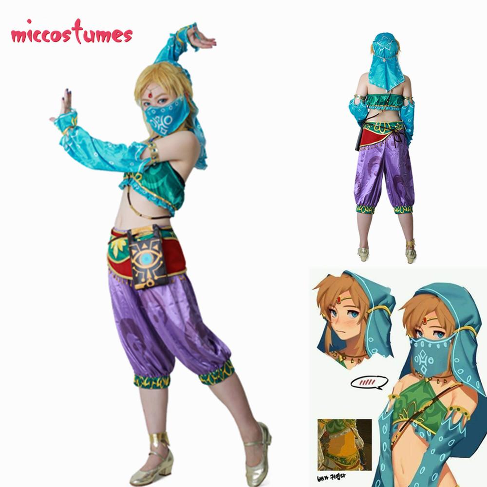 Female Link Cosplay Costume