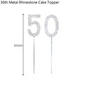 50th Cake Toppers