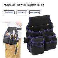 blue tool bag