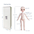 Dream Fairy 1/6 Dolls Court Style 28CM BJD Ball Jointed Doll Full Set Including Clothes Shoes DIY Toy Gift for Girls preview-6