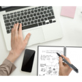 NeWYeS A4 Wet Erasable Reusable Smart Writing Notebook Black Waterproof Paper Auto-Scan Customized Gift Wire Bound Spiral Notes preview-6