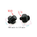M4 M6 M8 M10 to 1/4  or 3/8 male to male Screw Mount Adapter for camera tripod camera photography accessories preview-3