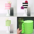 1pcs Stainless Steel Cake Decorating Tools Cake Scrapers Pastry Comb Smoother Cream Decorating Baking Tools Kitchen Baking Mold preview-2