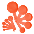 10pcs 7 Color Measuring Cups And Measuring Spoon Scoop Silicone Handle Kitchen Measuring Tool FreeShipping preview-6
