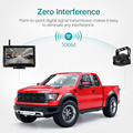 GreenYi 1080P Wireless IPS 5 Inch Car Monitor Rear View Reverse Camera Driving Kit with Stable Digital Signal Auto Parking preview-3