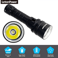 Professional Diving Light 200 Meter L2 Waterproof IPX8 Underwater LED Flashlight Diving Super Brightness Tactical Scuba Diving preview-3