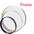 MEIAN Round Aluminum Frame For Canvas Painting Picture Provide DIY Wall Photo Frame Poster Frame Wall Art Craft Frame Art Hanger preview-1